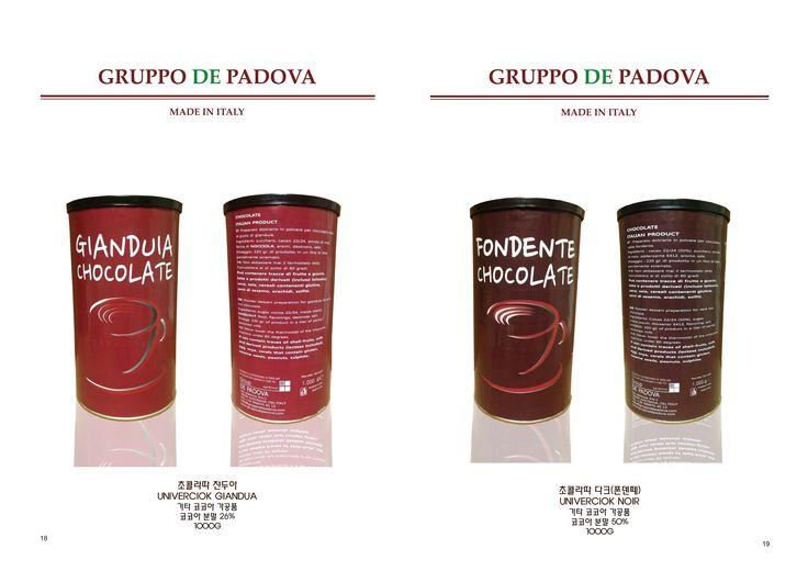 GRUPPO DE PADOVA  CHOCOLATE