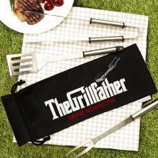 Personalizowany zestaw do grilla GRILLFATHER idealny na urodziny