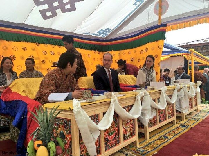 Duchess Kate: Kate in Bhutanese Kira-Inspired Look to Meet the King and Queen of Bhutan
