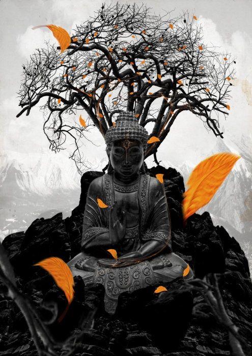 Buddha...like this.
