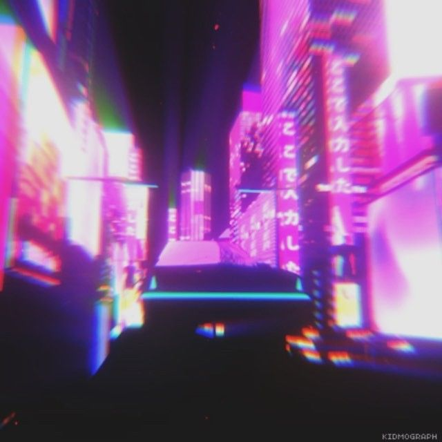 LOST CITY  by @ihatedonross  #mograph #motiongraphics #animation #loop #cinema4d #c4d #3d #aftereffects #ae #night #city #lost #cyberpunk #retrofuture #sci-fi #lo-fi #video #videoart #trip #travel #endless #synthwave #design #art #kidmograph