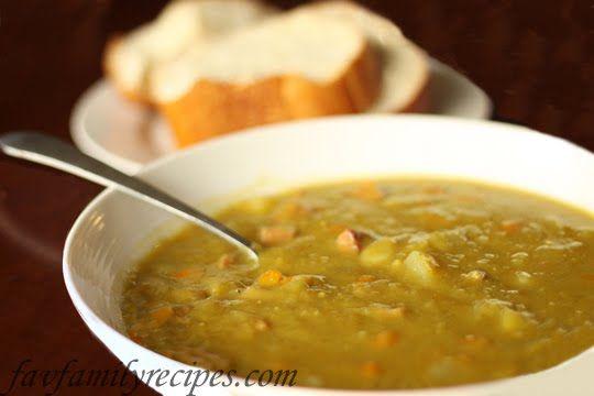 Crockpot Split-Pea Soup! Healthy Healthy