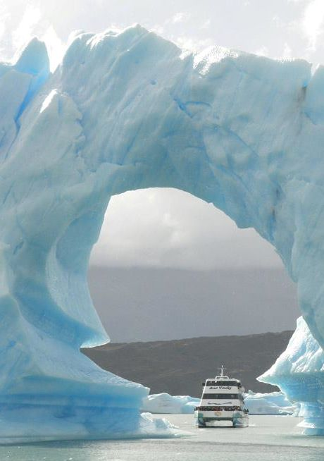 Under the iceberg, Argentina. Go to www.YourTravelVideos.com or just click on photo for home videos and much more on sites like this.