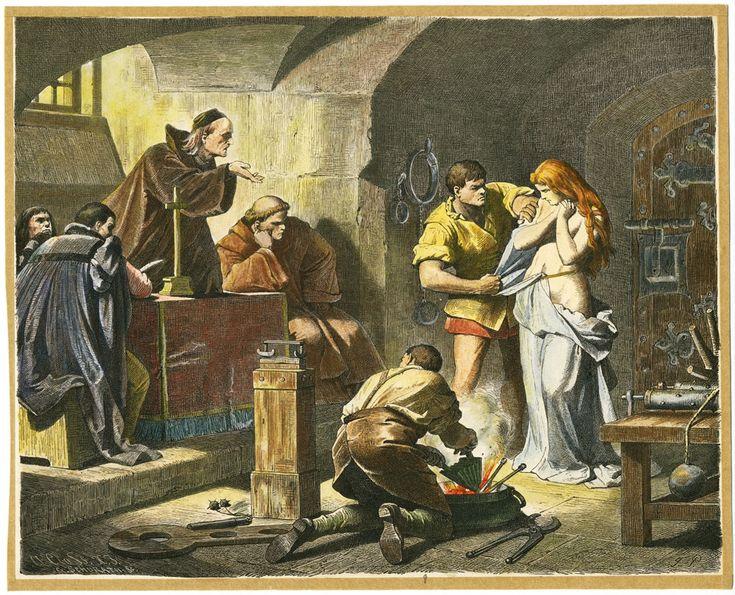 «Пытка ведьмы», художник Фердинанд Пилоти. Охота на ведьм сочетала в себе крайности — чудовищную жестокость со своеобразным милосердием, христианский консерватизм со жгучим эротизмом