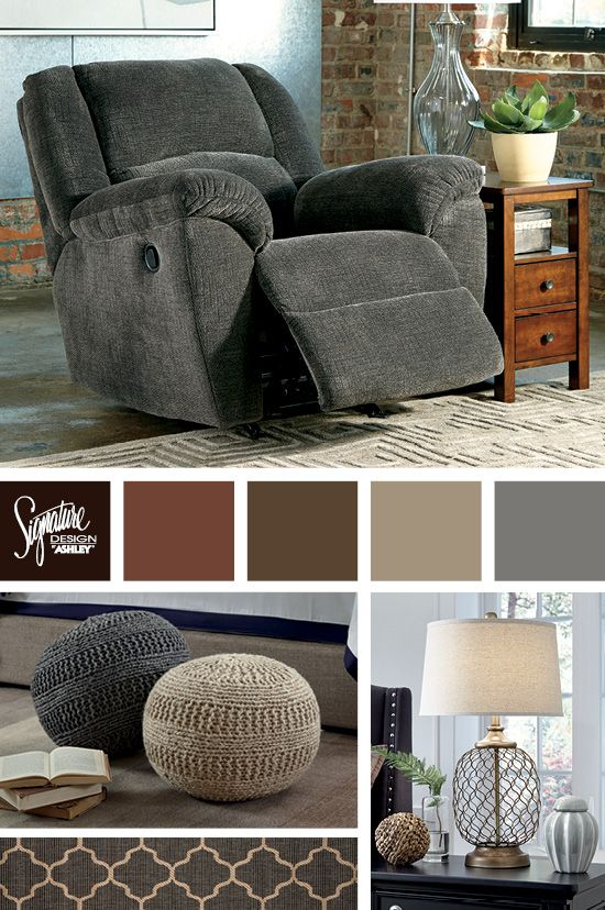 the timpson recliner is the perfect place to cozy up and enjoy style and comfort ashley furniture industries