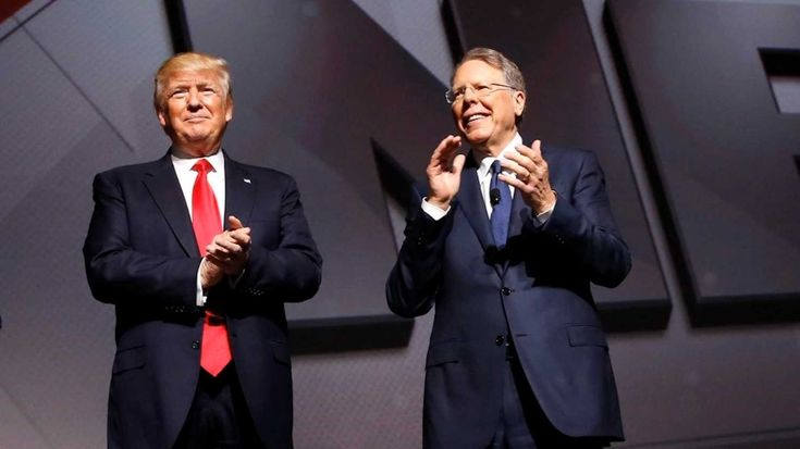 President Trump told the audience at the National Rifle Association annual conference in Atlanta that he will never infringe on their right to keep and bear arms.
