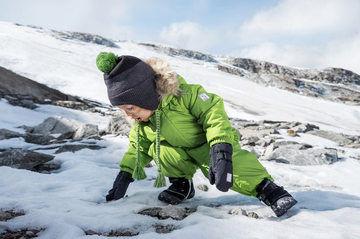 Kids love to explore the nature - make sure their clothes support these adventures.
