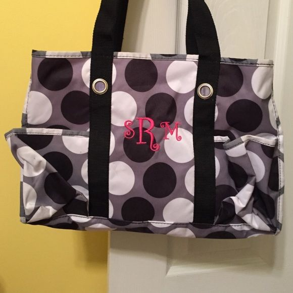 Monogrammed srm 31 bag Euc monogrammed 31 bag. Used for maybe 6 months tops! Great bag and many pockets! Monogrammed srm Thirty-one Bags Shoulder Bags