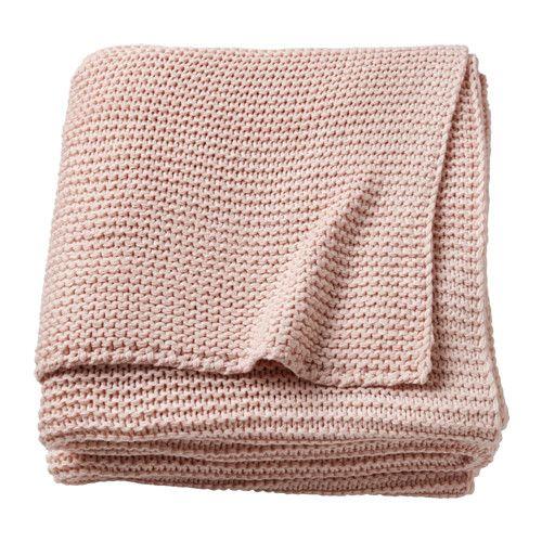 IKEA - INGABRITTA, Manta, , Una colcha de punto con un tacto muy suave.