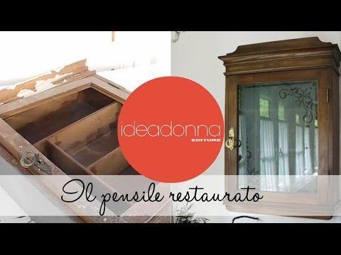 Le Idee di Casamia - Recupero e restauro mobili - terza puntata -  il pe...