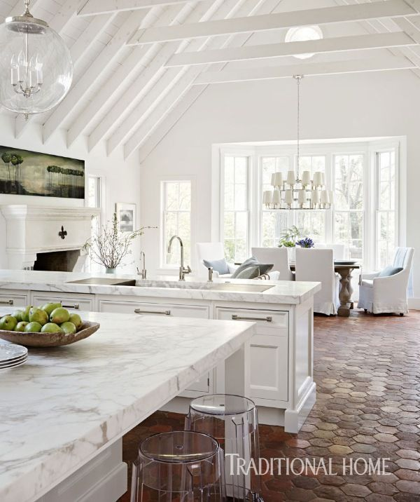 Love This Kitchen The Beams Wood Floors White Cabinets: 529 Best Images About Kitchens We Love On Pinterest