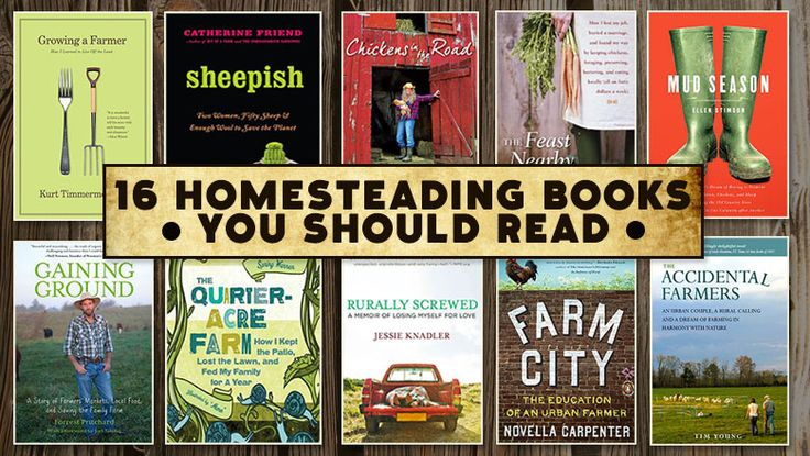 16 Homesteading Books You Should Read
