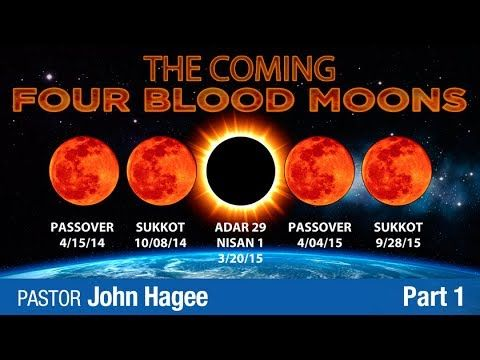▶ THE COMINING OF BLOOD MOONS OCTOBER, 8, 2014 - 2015 TETRAD PROPHECY (Shocking message) - YouTube  (Hmmmm...dont know how much if this I believe!)
