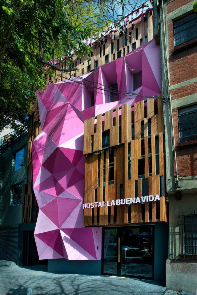 Galer a de hostal la buena vida arco arquitectura for Tianhua architecture design company