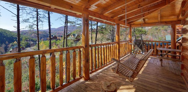 Cabins in Pigeon Forge - Smoky Mountain Cabins Gatlinburg TN - Acorn Cabin Rentals