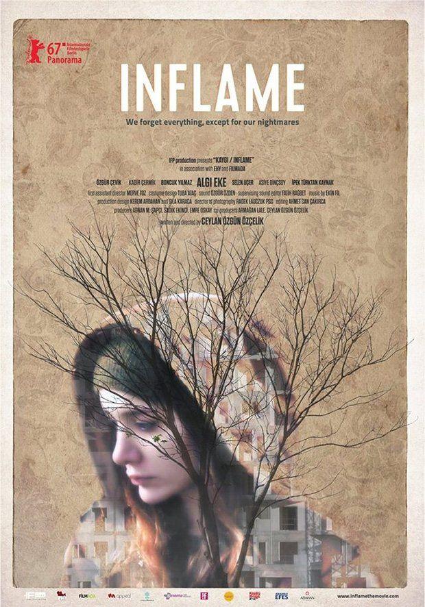 Kaygi (Inflame) by Ceylan Özgün Özçelik. Berlinale Panorama Special.  Poster.