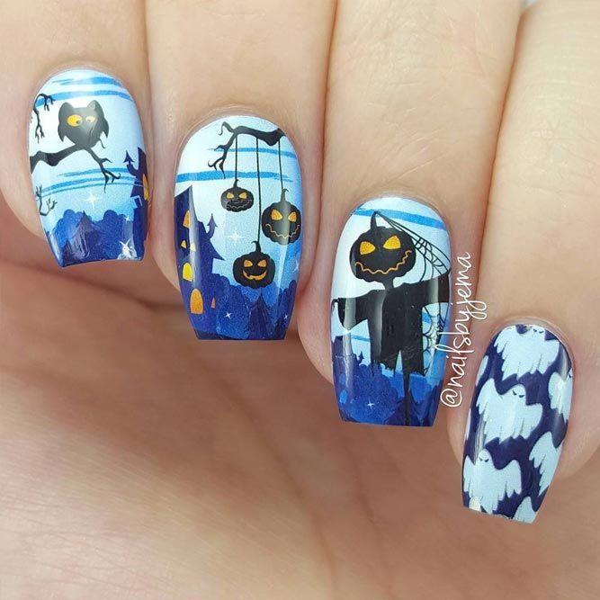 112 best Halloween Nails images on Pinterest | Halloween ...