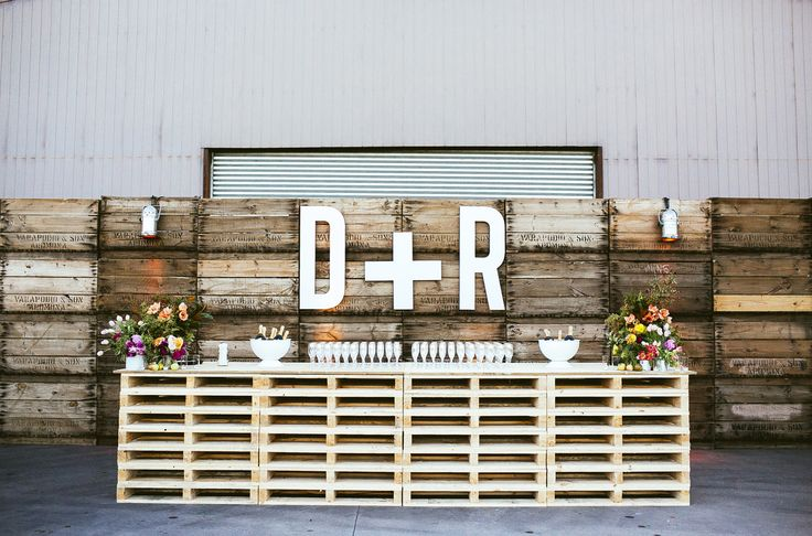 Renee + David - Shed Wedding by The Style Co.