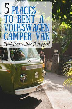 Volkswagen Camper Van Rentals | VW Camper rentals