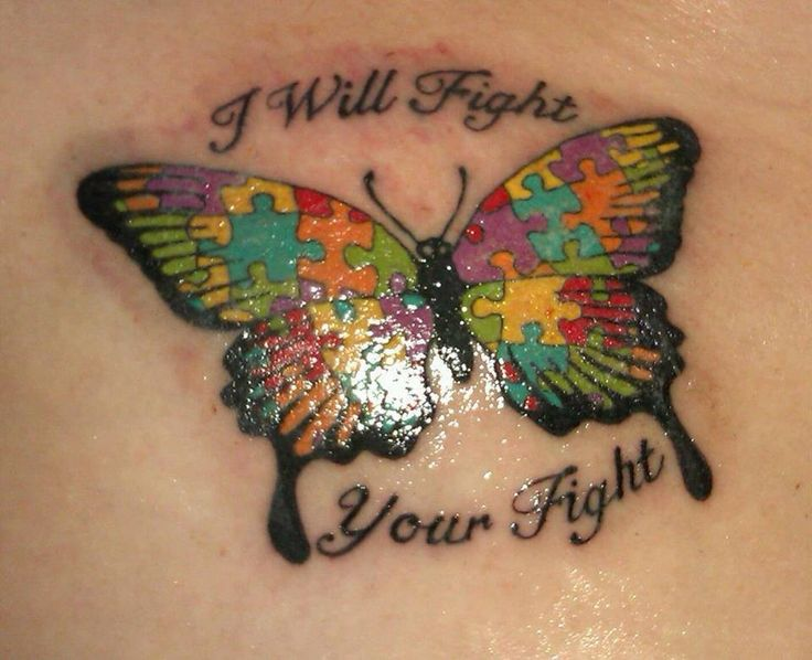 Autism tattoo. I absolutely love it!! I love the wording. It is what I do for my son every day x