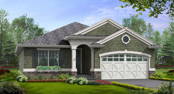 The Gallatin House Plan from The House Designers is a 1,488 Sq. Ft. home ideal for new families and empty nesters. To see the actual floor plans for this home, click here: http://www.thehousedesigners.com/plan/gallatin-3239/