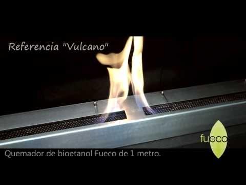 CHimeneas Referencia Vulcano de #Fueco - YouTube #bioetanol, #Fueco,  #ecologicas, #chimeneas
