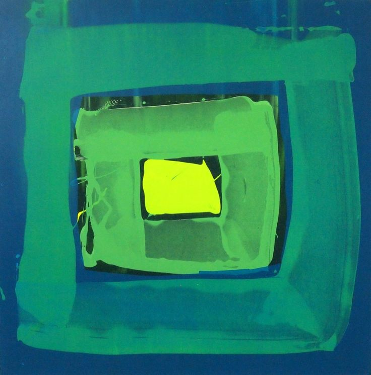 Modern ArtBuyer: Portal 3 (serigraph) by Alexander Johnson