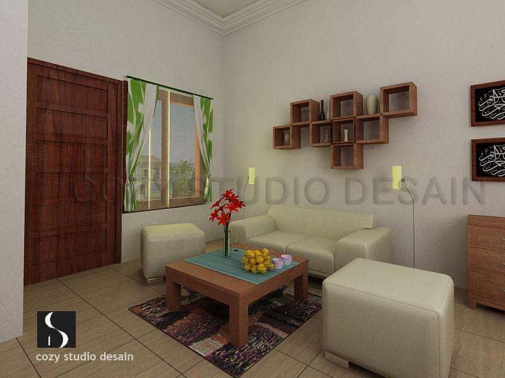 desain ruang tamu mungil sederhana living room pinterest