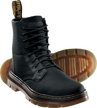 Dr Martens 140cm Boot Hombre cordones Negro Negro Black - Flat YhS9m