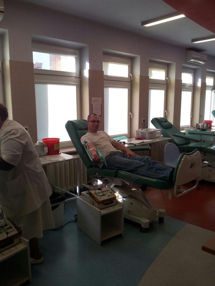Wojciech Pieniążek dawca krwi, krwiodawca, krwiodawcy, krwiodawstwo, krew, hdk, blood donor, blood donation, blood