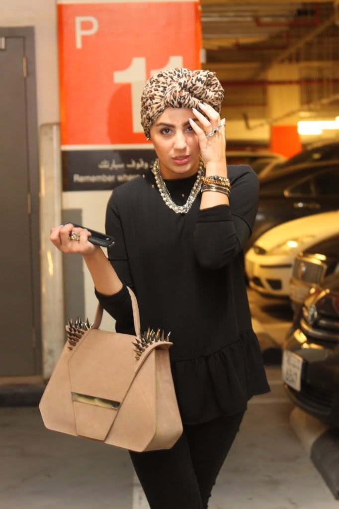 Tiger print Turban Hijab Fashion