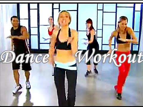 Latin Dance Aerobic Workout - 30 Minutes Cardio Dance Class For Beginners To Lose Weight - YouTube