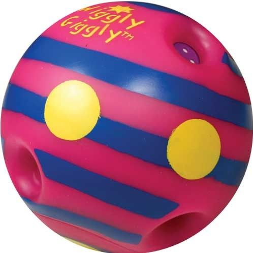 Wiggly Giggly Auditory Stimulating Ball for Gross Motor Skill Improvement