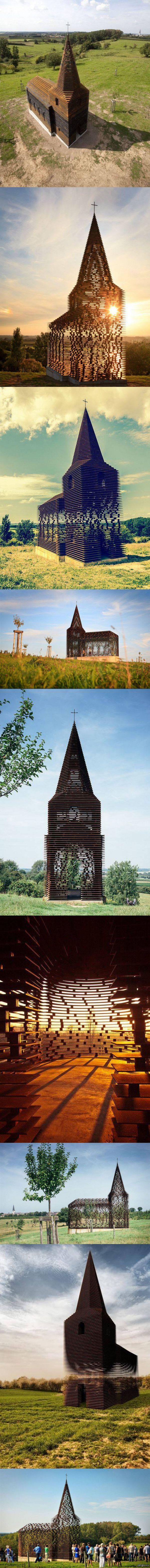 """""""Необычная церковь в Бельгии""""   фото, церковь, архитектура, памятник, Интересное, длиннопост"""