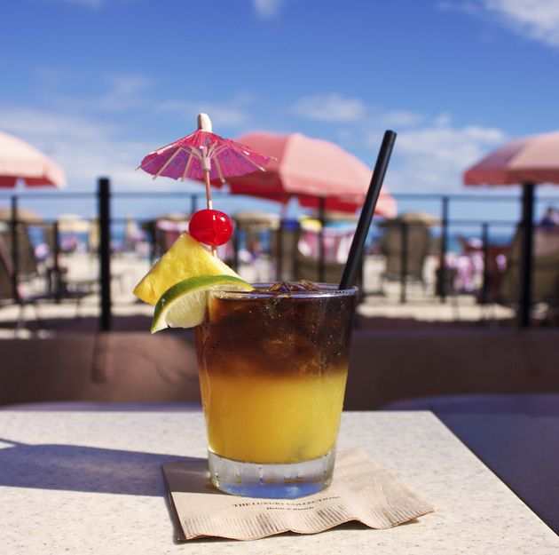 How to make a real tropical mai tai drink