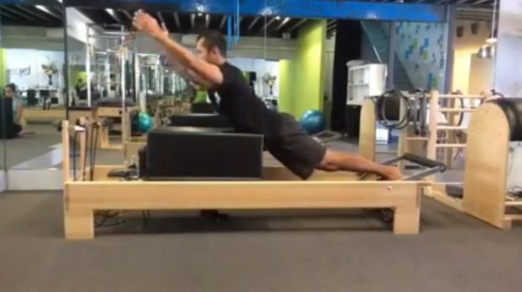 Day 28 - Swan on the reformer ... Tricky extension! To view the full video visit www.facebook.com/bpstensegrity.com