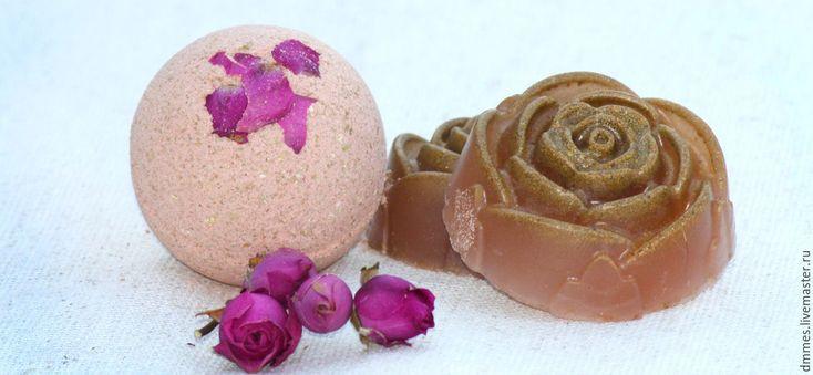 """Купить Бомбочка """"Розовая глина"""" - розовый, бомбочка с глиной, розовая глина, бомбочки для ванны"""