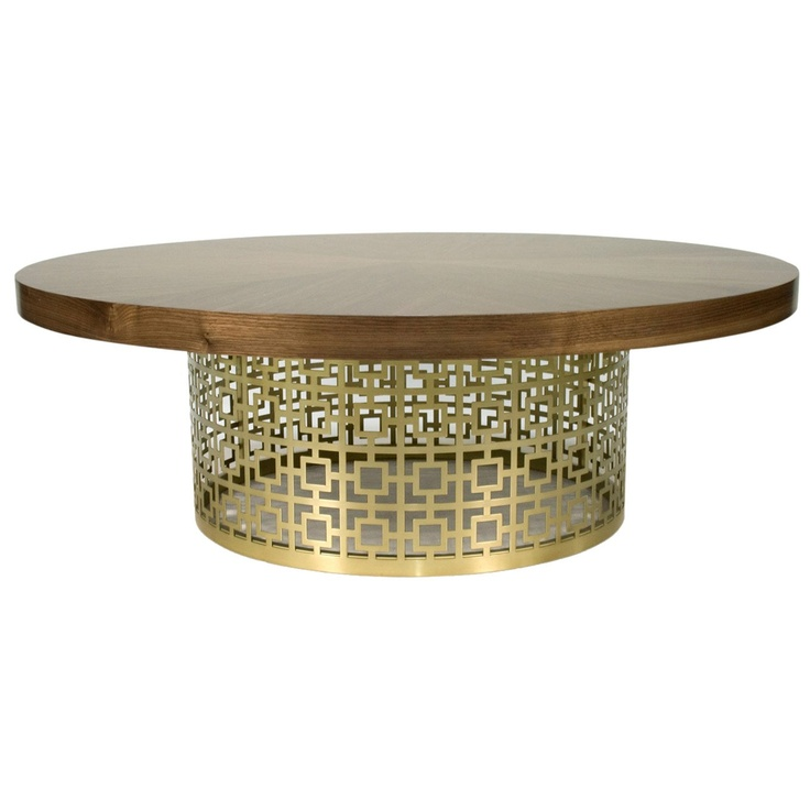 Gorgeous Table. Jonathan Adler Nixon Brass Cocktail Table $1750 15