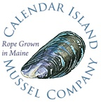 Calendar Island Mussel Company. Rope grown mussels from Maine's Casco Bay.