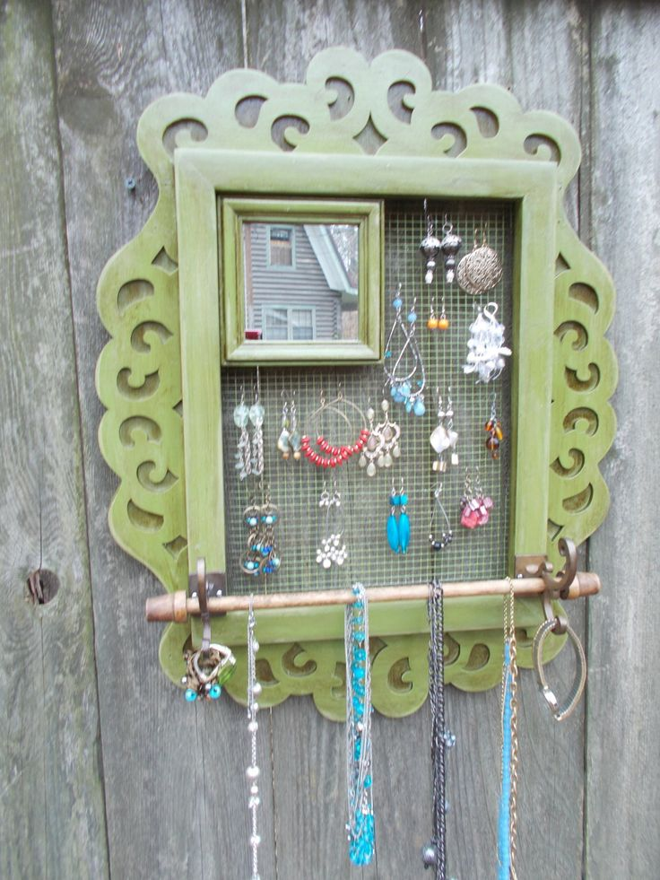 Wall Hanging Jewelry Organizer 72 best jewelry organizers/display images on pinterest | jewelry