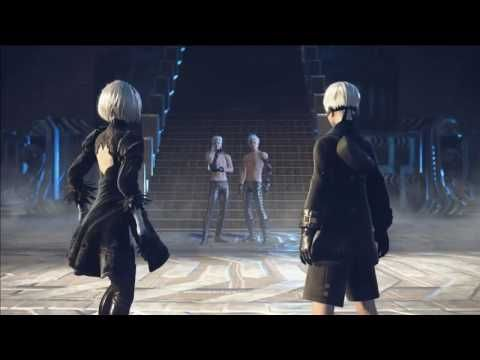 NieR: Automata - Jump Festa 2017 Trailer (Stream-Recorded) - YouTube