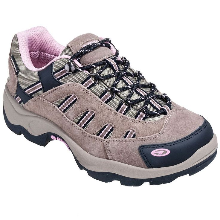 Hi-Tec Boots Women's Taupe 22033 Bandera Low Waterproof Hiking Shoes