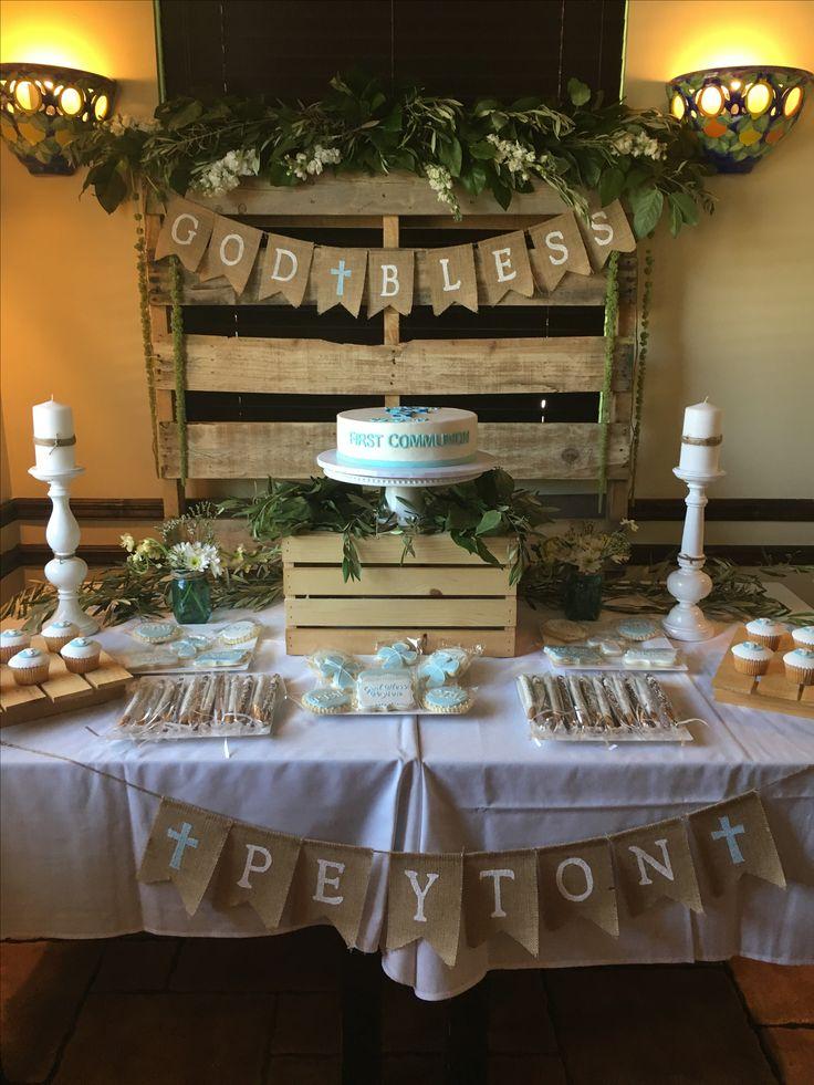 Best ideas about communion centerpieces on pinterest