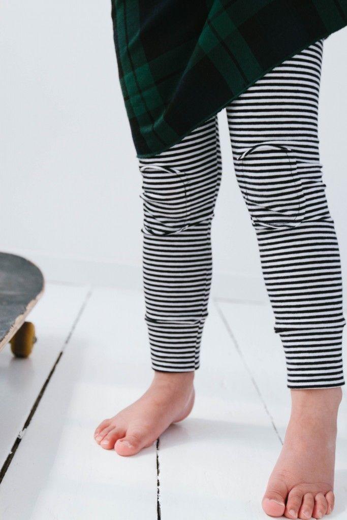 MINGO striped leggings