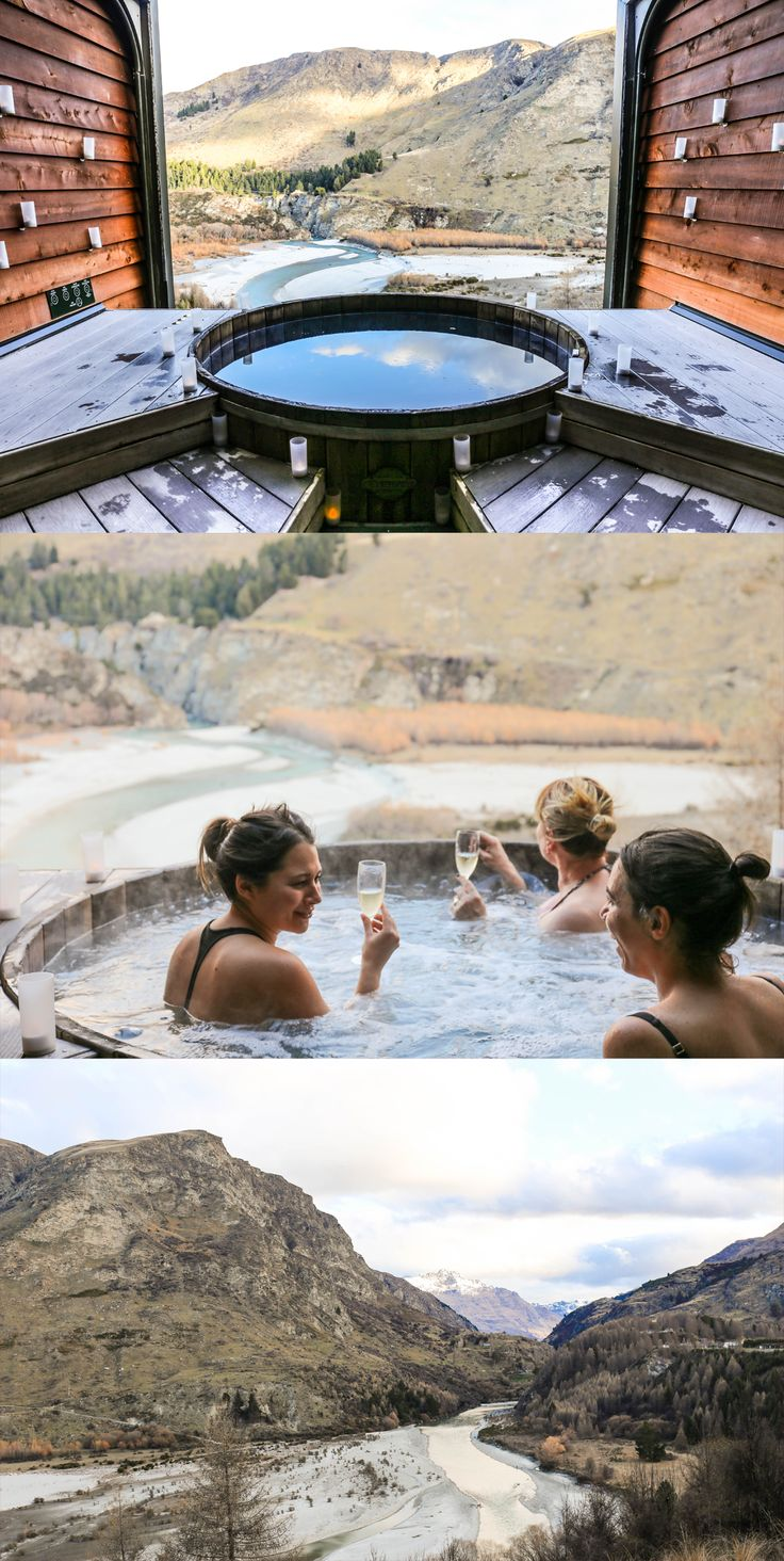 Discovering Nature's Power at Onsen Hot Pools - Queenstown, New Zealand