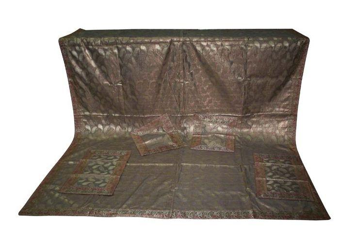 Silk Duvet Cover Quilt Bedding Set Embroidery Handmade Bed Cover USA SELLER ! #Handmade #Traditional