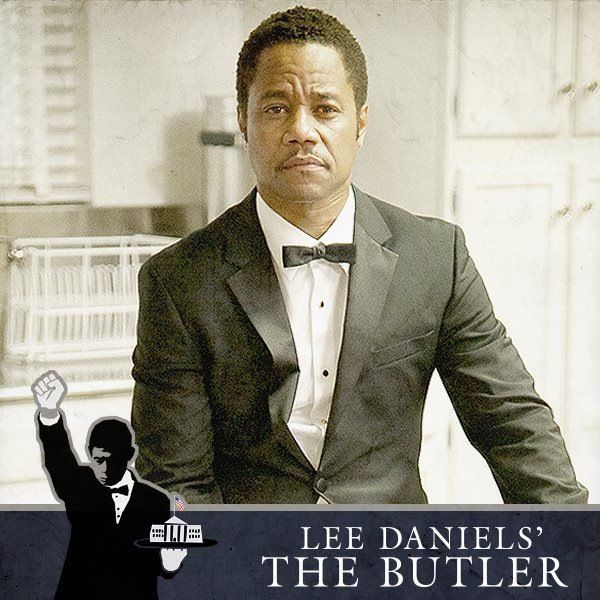 """CUBA GOODING JR!! PLAYED A BUTLER WORKING IN THE WHITE HOUSE IN THE MOVIE """"THE BUTLER"""" 