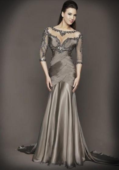 Ano novo venda quente elegante chão Vestido De Festa Longo Longo Vestido