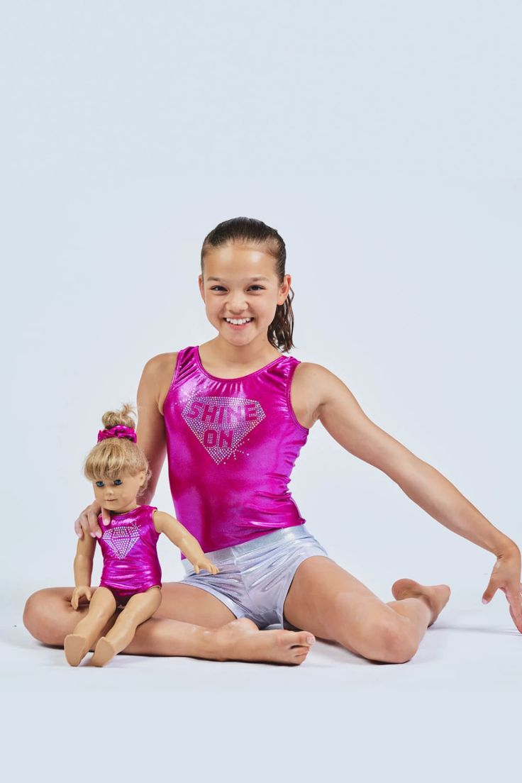 Gymnastics Leotard for a Two Year Old on Everyday Champion