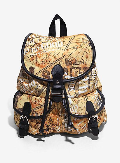 Harry Potter Marauder's Map Slouch BackpackHarry Potter Marauder's Map Slouch…